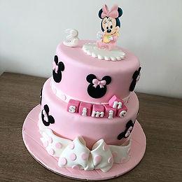Gâteau personnalisé Minnie