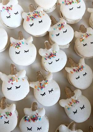 Des macarons licornes! À croquer non? 😉