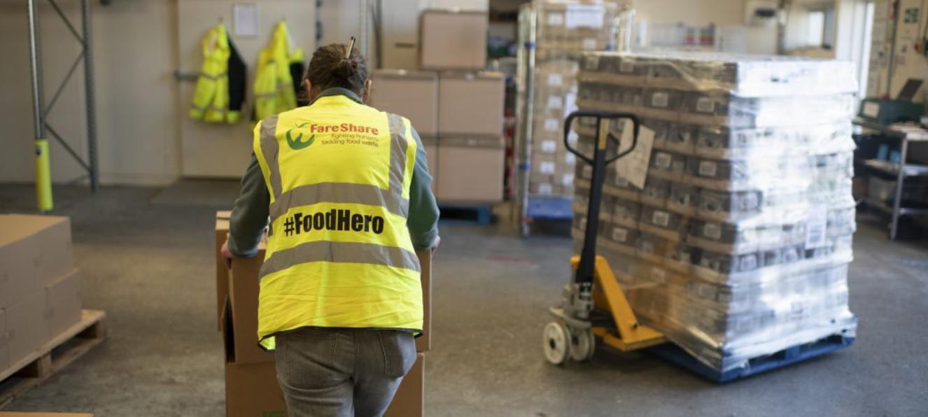 Decade-long partnership sees FareShare food charity flourish