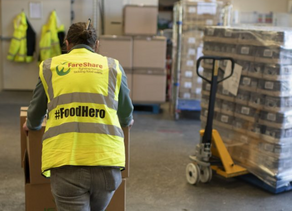 Decade-long partnership sees FareShare food charity flourish