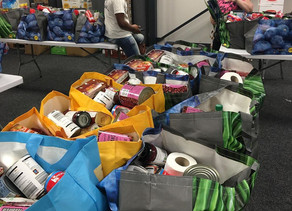 Over 22000 meals provided through our food parcel program.