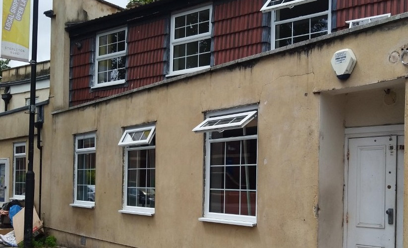 Great to see the new windows have been fitted at the Wild Goose as part of the refurbishment!