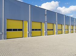 exterior of industrial units