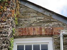 Farmhouse roof and window