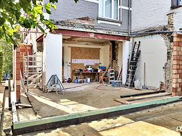 Structural alterations for rear extension