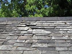 maintenance survey broken and missing slates to natural slate roof