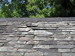 maintenance survey broken and missing slates to natural slate roof