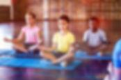 yoga class zen zone kids