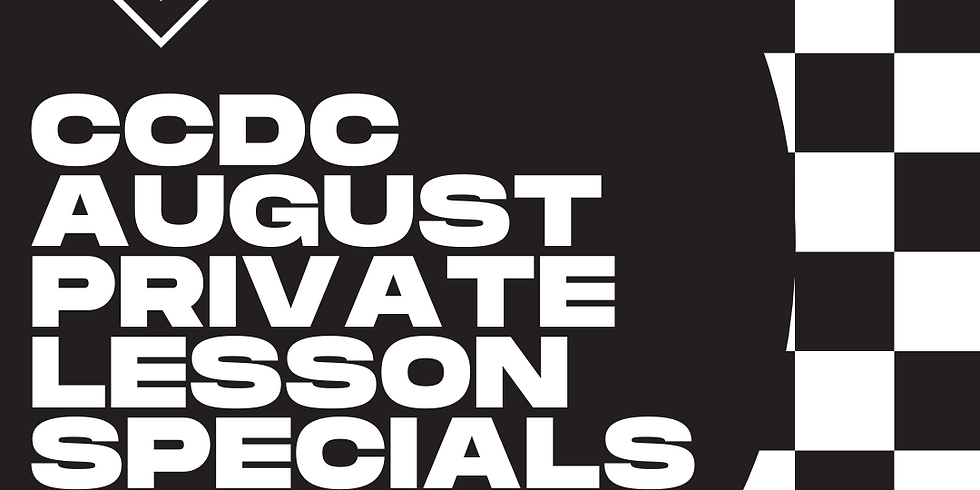 August Private Lesson Specials