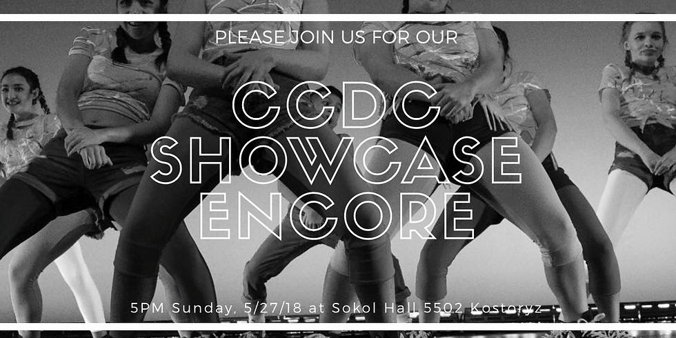 CCDC Showcase Encore (Dancer Ticket)
