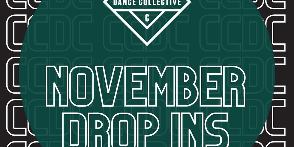 November Drop-ins