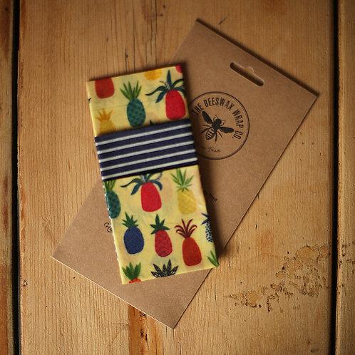 Beeswax Medium Wraps ~ Pineapple