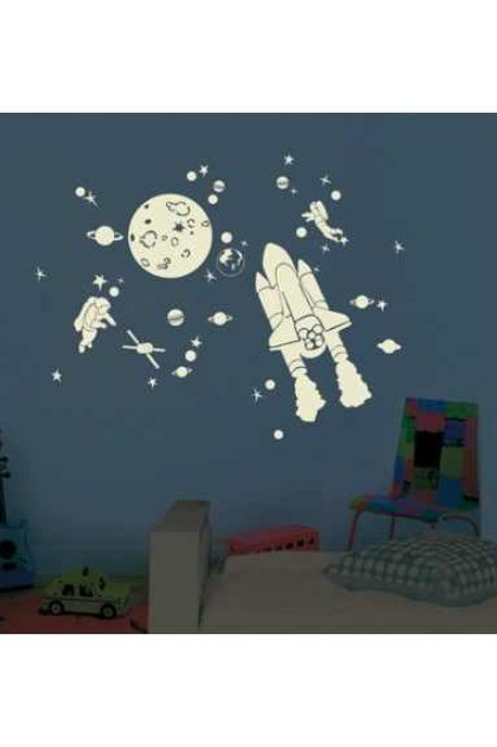 MIMI'lou Glow in the Dark Space Mural