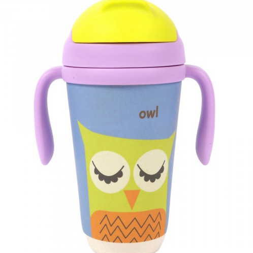 Bamboo Sippy Cup - Owl