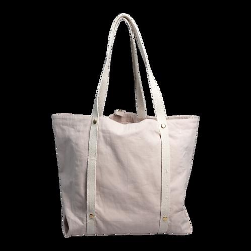 Fabelab Large Organic Tote Bag - Dusky Pink