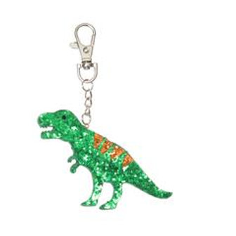 Rockahula Dinosaur Glitter Bag Charm