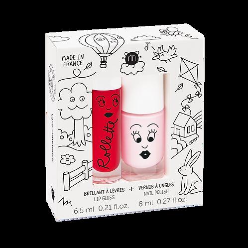 Nailmatic Kids - Duo Lip Gloss & Polish - Kids Cottage