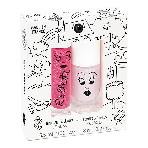 Nailmatic Kids - Duo Lip Gloss & Polish - Fairytales