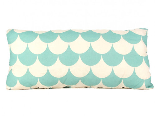 Nobodinoz Mint Green Mermaid Cushion