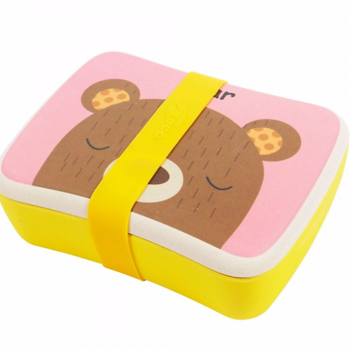 Bamboo Lunch Box - Bashful Bear