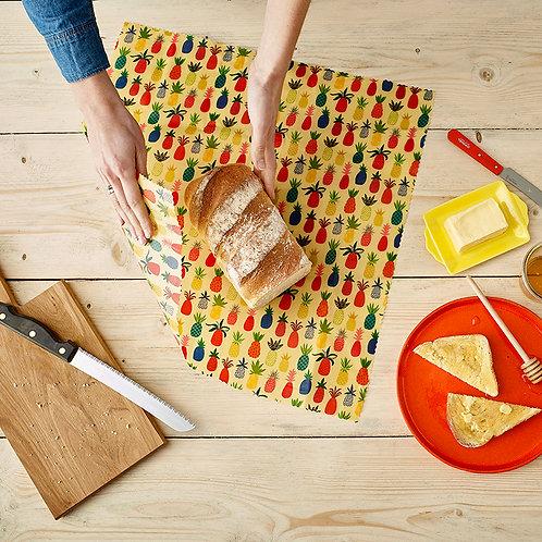 Beeswax Bread Wrap ~ Pineapple