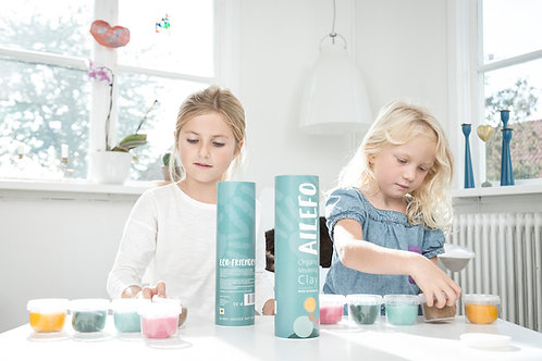 Ailefo organic play dough - Slim Tube
