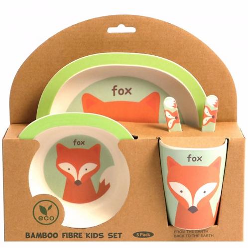 Bamboo Dinner Set - Fantastic Mr Fox
