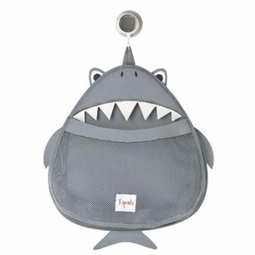 3 Sprouts Bath Tidy - Shark