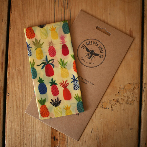 Beeswax Lunch Wraps ~ Pineapple