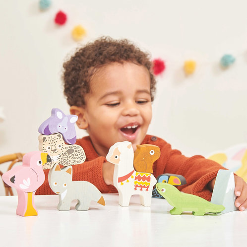 Le Toy Van - Mountain Animals Stacking Tower