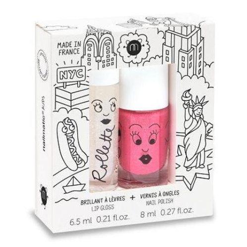 Nailmatic Kids - Duo Lip Gloss & Polish - New York