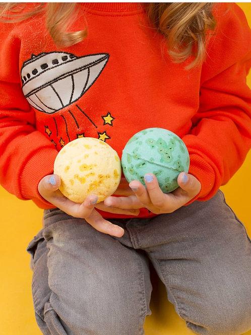 Nailmatic Kids Yellow Bath Bomb