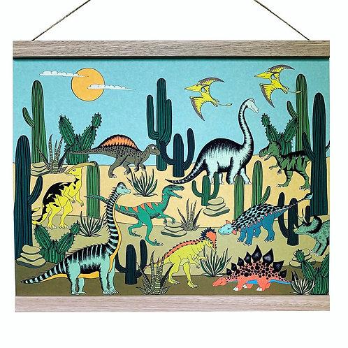 Dinoraw Desert Art Hanger A3+