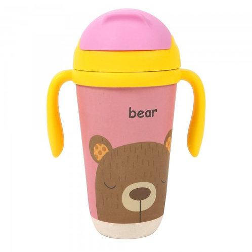 Bamboo Sippy Cup - Bashful Bear