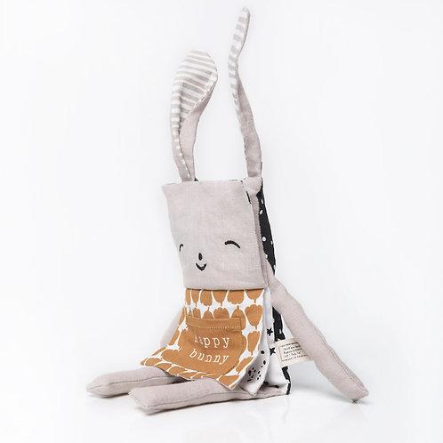 Organic Bunny Flippy Friend Book