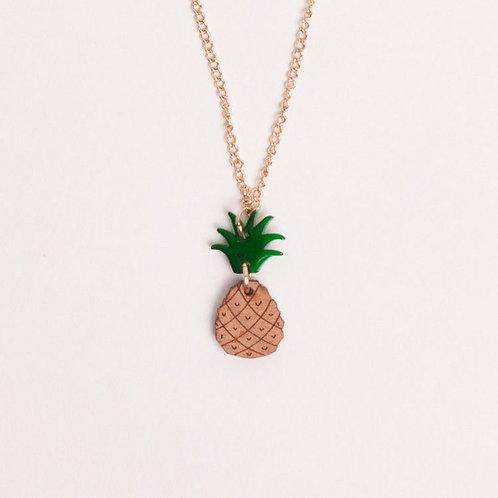 Meri Meri Punky Pineapple Necklace