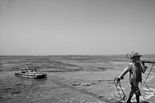 61 Le vieil homme de la la mer : Grands Formats