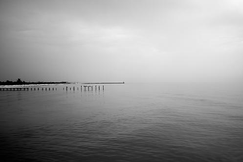 Brume sur le Golf du Mexique(Landscape)Tirage 90 X 60 cm, 135 x 90 plein format, Patrick Raymond
