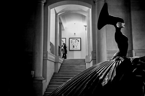 La dame en Noir (collection Blackmood) Tirage 90 X 60 cm, 135 x 90 plein format, Patrick Raymond