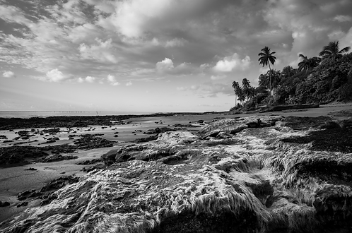 Tabuba Beach, collection (Landscape)Tirage 90 X 60 cm, 135 x 90 plein format, Patrick Raymond