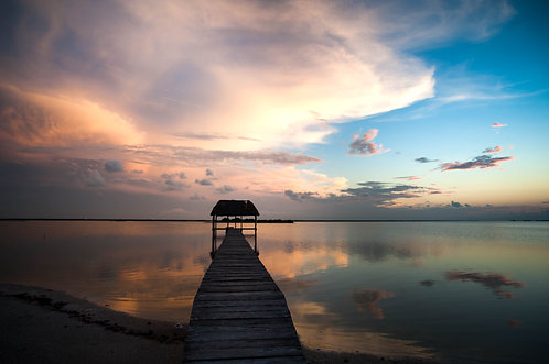Laguna, El cuyo (Mexique)  Tirage 90 X 60 cm, 135 x 90 plein format, Patrick Raymond