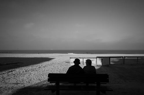 le vieux couple collection (Landscape) Tirage 90 X 60 cm, 135 x 90 plein format, Patrick Raymond