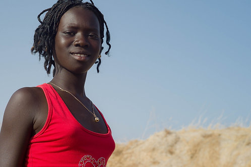 La princesse de Palmarin (Sénégal) Tirage 90 X 60 cm, 135 x 90 plein format, Patrick Raymond