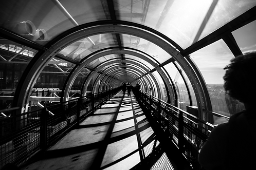 The tube (collection Blackmood)  Tirage 90 X 60 cm, 135 x 90 plein format, Patrick Raymond