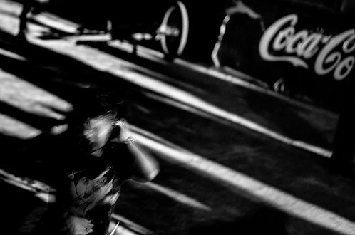 Colanisation (collection Blackmood-confusion)  Tirage 90 X 60 cm, 135 x 90 plein format, Patrick Raymond