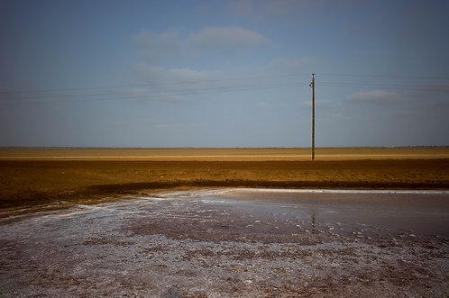 La piste, Pays Sérère (Sénégal)  Tirage 90 X 60 cm, 135 x 90 plein format, Patrick Raymond