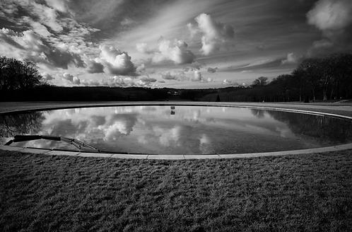 Une elipse dans les nuages collection (Landscape) Tirage 90 X 60 cm, 135 x 90 plein format, Patrick Raymond