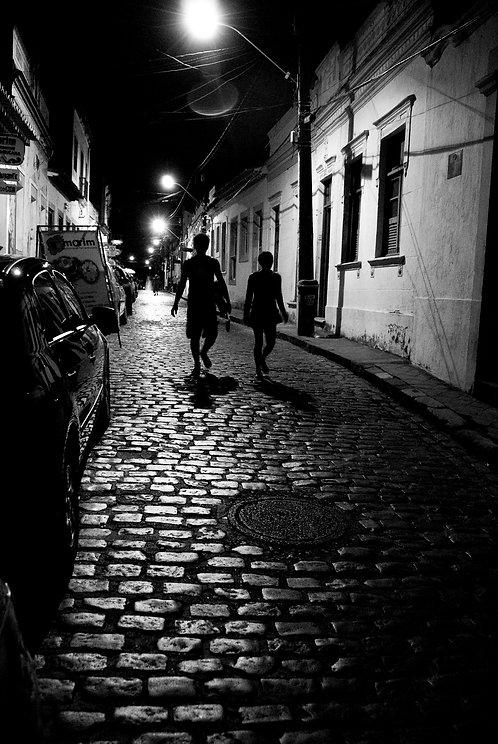 Une nuit a Olinda, tirage 90 X 60 cm, 135 x 90 plein format, Patrick Raymond