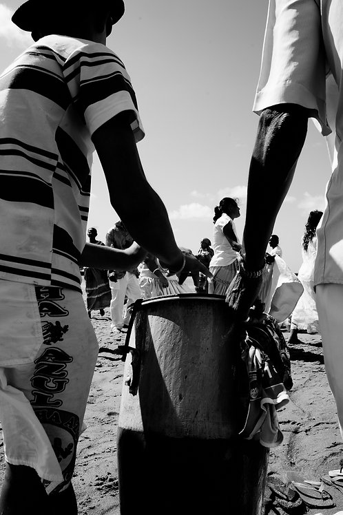 14 Les tambours de Yemanja : (grands formats)