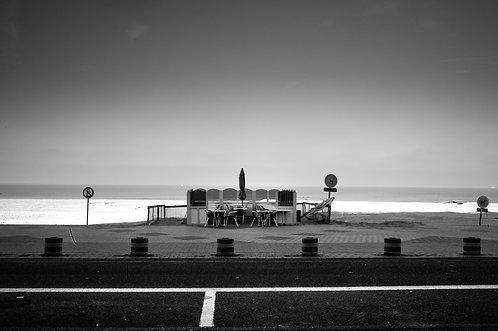 Knokke-le-Zoute,  90 X 60 cm, 135 x 90 plein format, Patrick Raymond